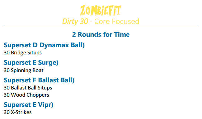 ZombieFit Example